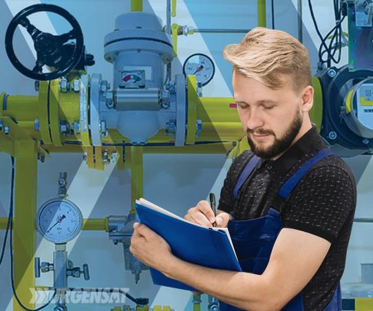 inspección instalaciones gas natural Toledo