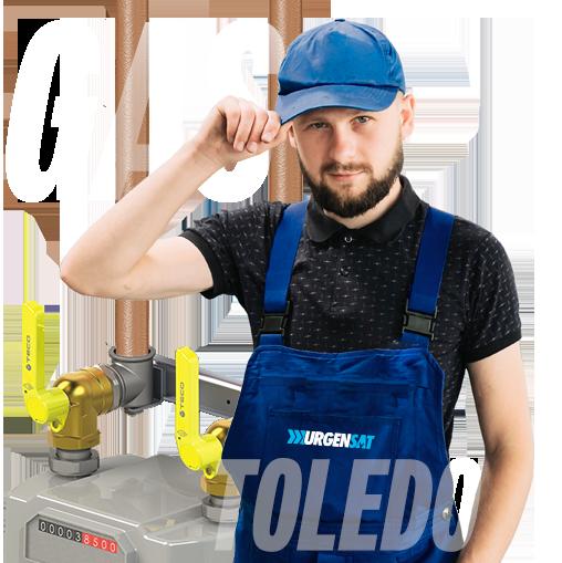 Instalador autorizado de gas en Toledo