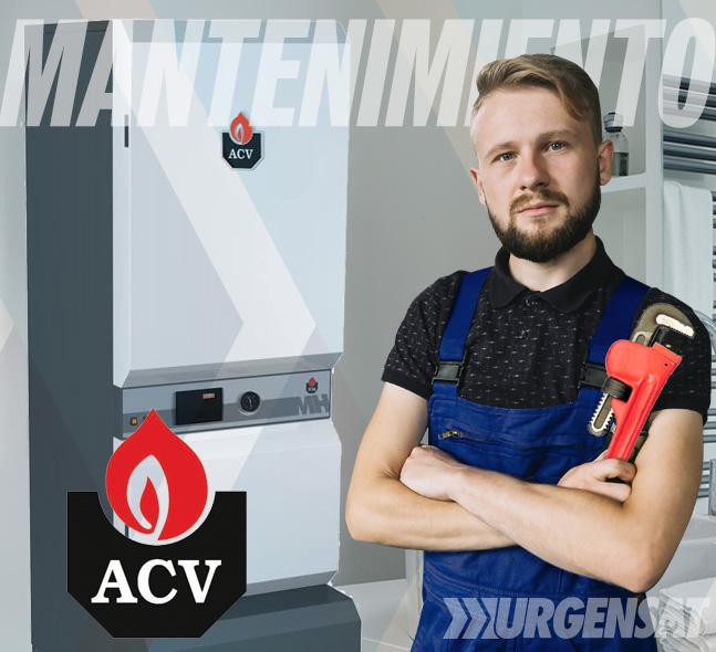 Contratos de mantenimiento de calderas ACV en Madrid