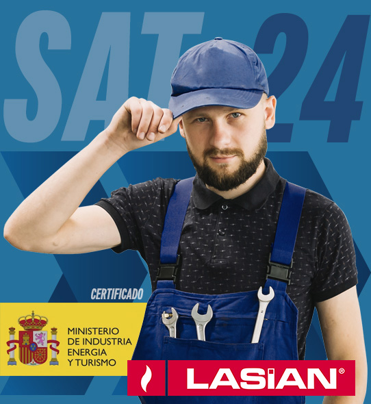 Reparación de calderas Lasian en Madrid