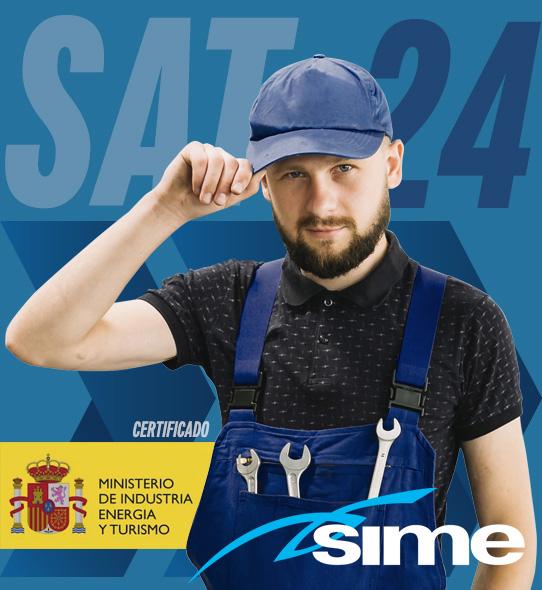 Reparación de calderas Sime en Madrid