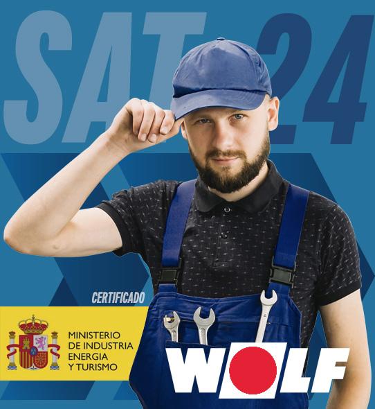 Reparación de calderas Wolf en Madrid