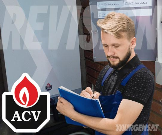 revisión de calderas ACV en Madrid