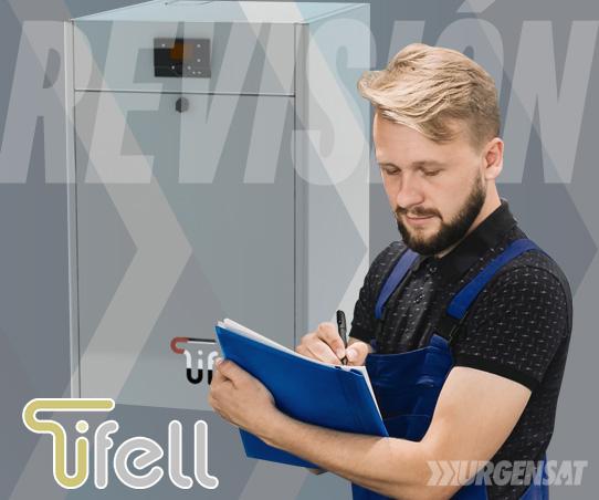 revisión de calderas Tifell en Madrid