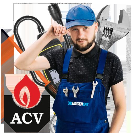 Servicio Técnico Calderas ACV en Toledo