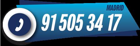 teléfono servicio técnico calderas Madrid