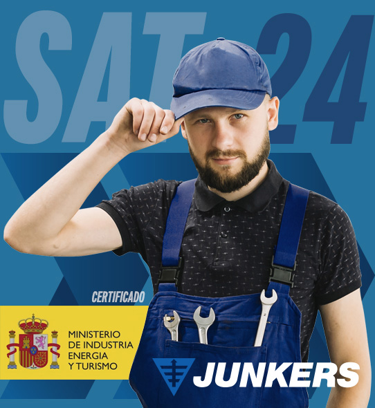 Reparación de calderas Junkers en San Fernando de Henares