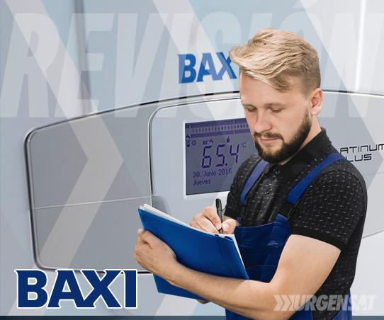 revisión de calderas Baxi en Collado Mediano