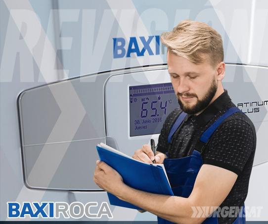 revisión de calderas BaxiRoca en Navas del Rey