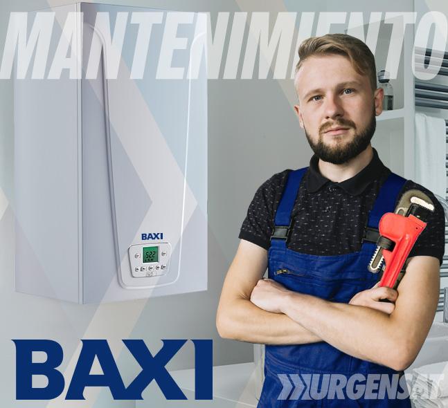 Contratos de mantenimiento de calderas Baxi en Collado Mediano