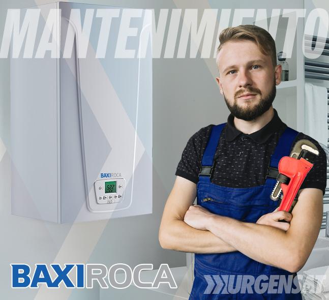 Contratos de mantenimiento de calderas BaxiRoca en Collado Mediano
