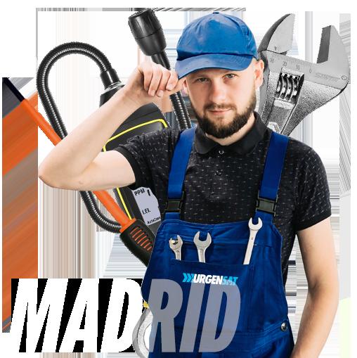 Reparación urgente de Calderas en Madrid