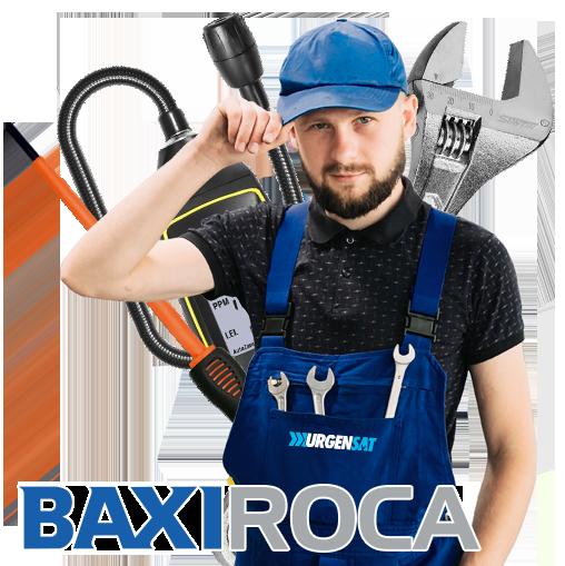 Servicio Técnico Calderas BaxiRoca en Collado Mediano