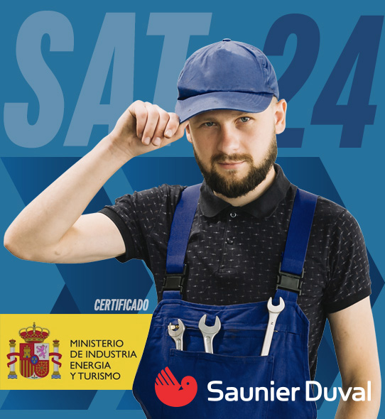 Reparación de calderas Saunier Duval en Alcalá de Henares