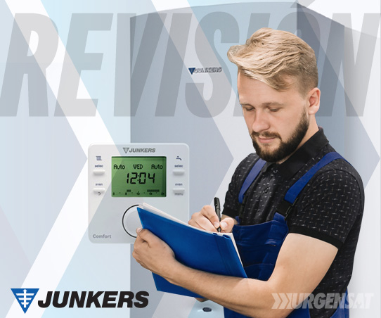 revisión de calderas Junkers en Villaverde