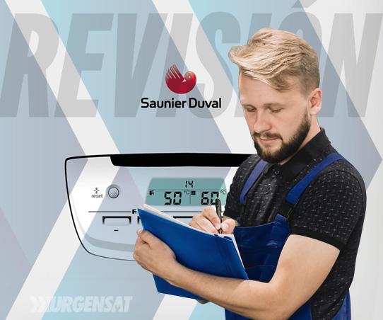 revisión de calderas Saunier Duval en Coslada