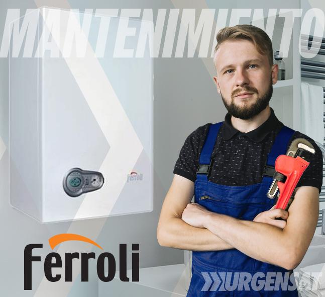 Contratos de mantenimiento de calderas Ferroli en Aluche